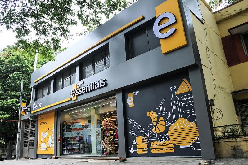 南部で開業した日系コンビニ1号店(NNA撮影)