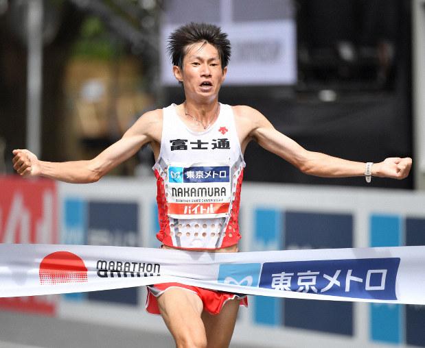 オリンピック マラソン 代表