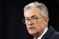 In this July 31, 2019, file photo Federal Reserve Chairman Jerome Powell speaks during a news conference following a two-day Federal Open Market Committee meeting in Washington. (AP Photo/Manuel Balce Ceneta)