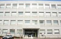 The Niigata Prefectural Police headquarters building is seen in this file photo taken in Niigata's Chuo Ward on Feb. 22, 2019. (Mainichi/Yuma Hori)