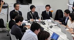 7月4日に開催された緊急記者会見(筆者撮影)