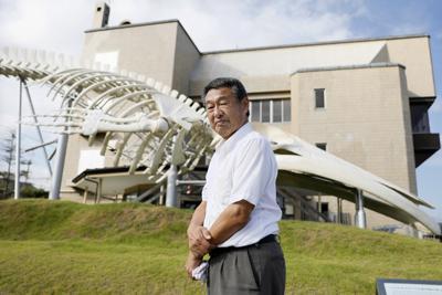 外房捕鯨の庄司義則社長=千葉県南房総市で、尾籠章裕撮影