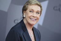 In this Sept. 29, 2015 file photo, actress Julie Andrews arrives at the Los Angeles Philharmonic 2015/2016 season opening gala at Walt Disney Concert Hall in Los Angeles. (Photo by Richard Shotwell/Invision/AP)