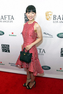 Marie Kondo arrives at the 2019 Primetime Emmy Awards - BAFTA Los Angeles TV Tea Party at the Beverly Hilton on Saturday, Sept. 21, 2019, in Beverly Hills, Calif. (Photo by Willy Sanjuan/Invision/AP)