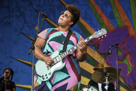 In this April 29, 2017 file photo, Brittany Howard of Alabama Shakes performs at the New Orleans Jazz and Heritage Festival in New Orleans. (Photo by Amy Harris/Invision/AP)