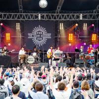 メインステージのライブ風景=岐阜県中津川市で2018年9月(ワイズコネクション提供)