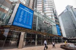 国際金融都市の要となる香港取引所(Bloomberg)