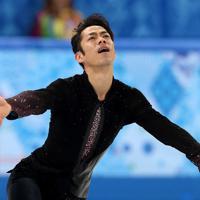 ソチ五輪、男子SPで演技する高橋大輔。この大会では6位だった=ロシア・ソチのアイスベルク・パレスで2014年2月13日、貝塚太一撮影