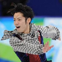バンクーバー五輪、男子フリーの演技に臨む高橋大輔。銅メダルを獲得した=パシフィックコロシアムで2010年2月18日、須賀川理撮影
