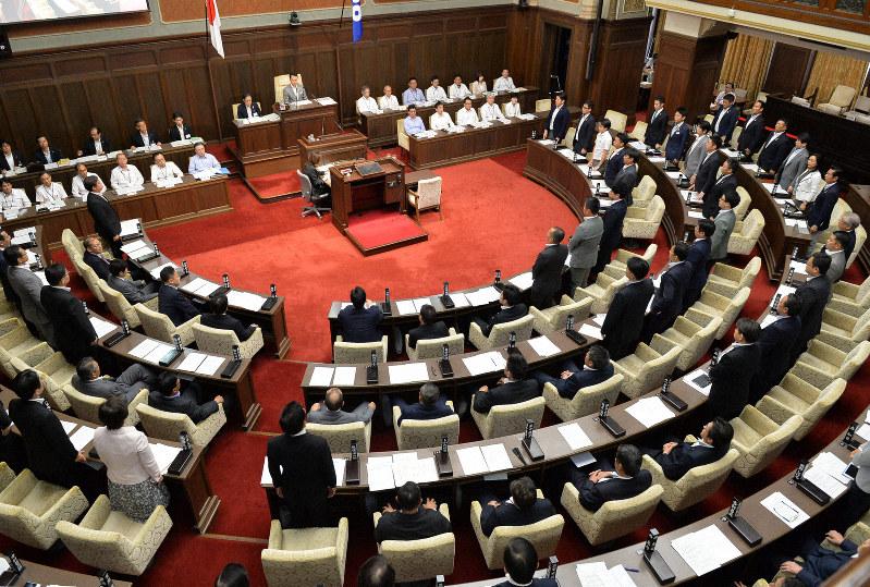 大阪府議会が議員年金反対の意見書採択へ 「廃止された制度の復活 ...