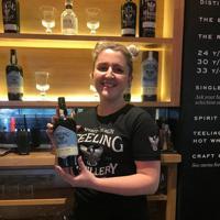 ダブリン市内にあるウイスキー醸造所ティーリング=2019年8月11日、大谷津統一撮影