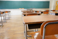 A school classroom is seen in this unrelated photo. (Getty Images)