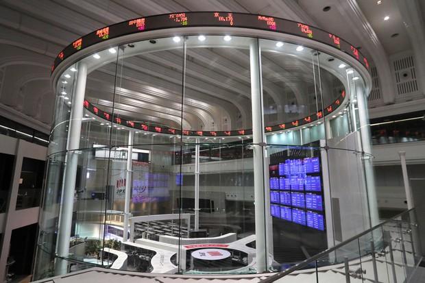 東京証券取引所=和田大典撮影