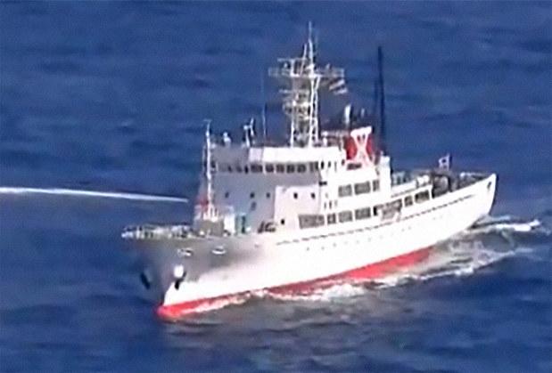 北朝鮮漁船と衝突 EEZで水産庁船...
