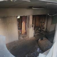 東日本大震災の遺構として一部保存される旧門脇小の校舎=宮城県石巻市で2019年10月9日午後1時31分、和田大典撮影