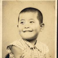 5歳のころの吉野彰氏=旭化成広報室提供