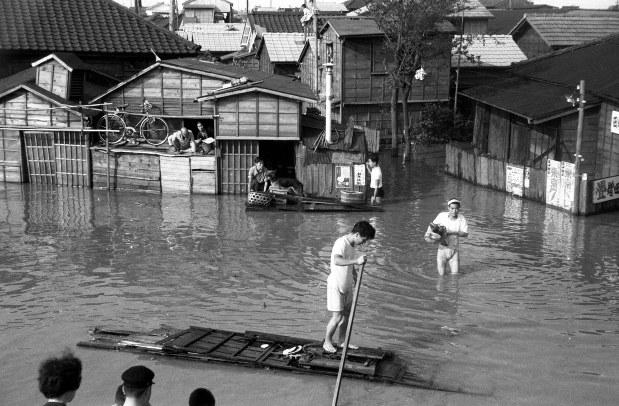 狩野川台風による被害の様子 1200人以上が犠牲(1958年)[写真特集3/7 ...