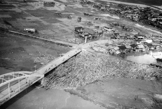 狩野川台風による被害の様子 1200人以上が犠牲(1958年)[写真特集6/7 ...