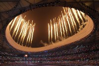2008 Beijing Olympics -- It was the first summer games held in Asia in 20 years since the 1988 Seoul event. A total of 204 nations and regions participated in 302 events in 28 sports. Japan won nine gold, eight silver and eight bronze medals.