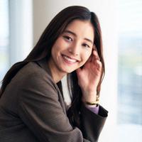 女優の新木優子さん=東京都江東区で2019年9月26日、玉城達郎撮影