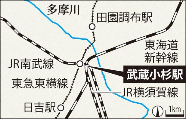 東急 田園 都市 線 台風