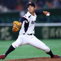 【西武2位】浜屋将太(投手・三菱日立パワーシステムズ 左投げ左打ち)