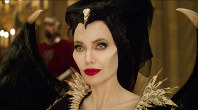 This image released by Disney shows Angelina Jolie as Maleficent in a scene from