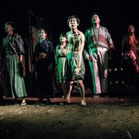昨年の公演「二つ三つのイーハートーブ物語 第一部『堂々たるデク』」の一場面=野戦之月提供