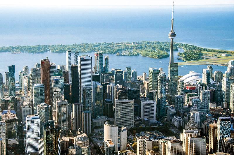 スマートシティーの計画が進むカナダ・トロント(Bloomberg)