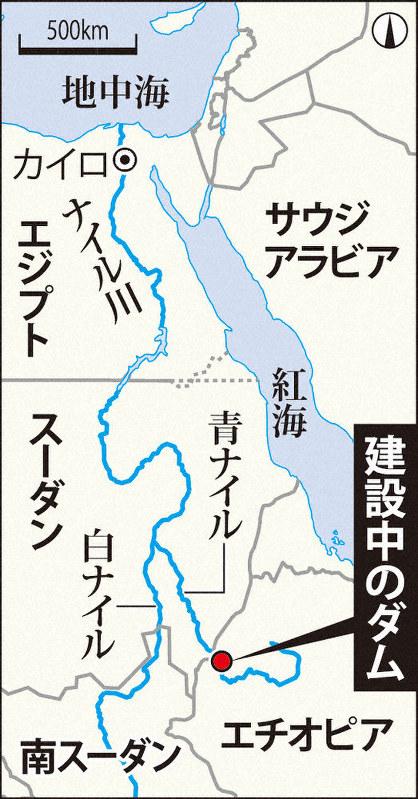 ダム ナイル 川