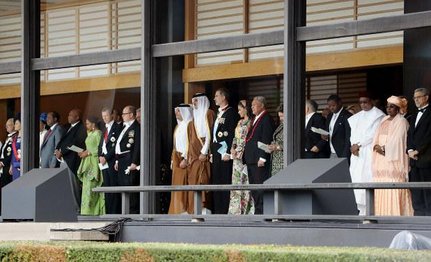即位の礼:海外も高い関心 中韓で生中継 韓国「憲法」「平和」に
