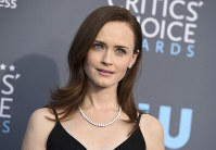 This Jan. 11, 2018 file photo shows Alexis Bledel at the 23rd annual Critics' Choice Awards in Santa Monica, Calif. (Photo by Jordan Strauss/Invision/AP)