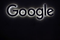 This June 16, 2017, file photo shows the Google logo at a gadgets show in Paris. (AP Photo/Thibault Camus)