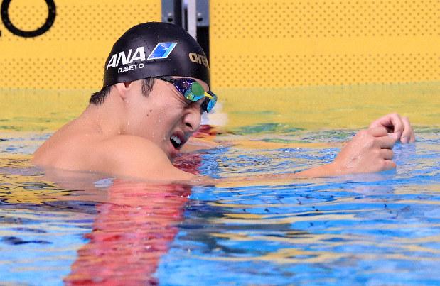 瀬戸が400個人メドレー日本新V 競泳日本短水路選手権 - 毎日新聞