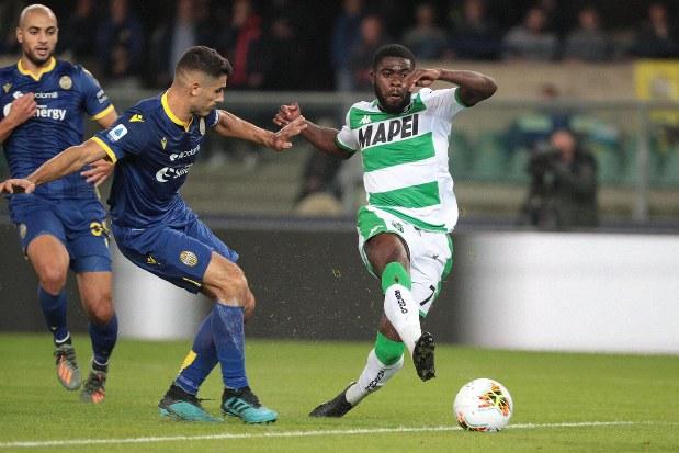 Serie A: Sassuolo beats Hellas Verona 1-0 - The Mainichi