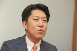 佐藤啓参院議員=高橋恵子撮影