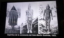 当地の先住民セルクナム族がさまざまな精霊に扮する祭り「ハイン」の貴重な記録写真(写真は筆者撮影)