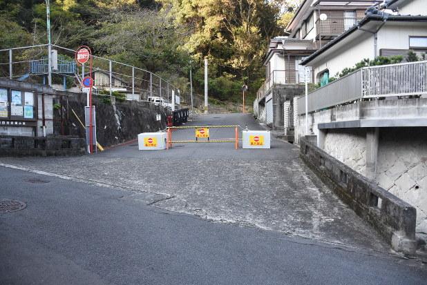 私道封鎖1カ月 長崎の団地孤島状態続く 識者「市も交え公平な負担を ...