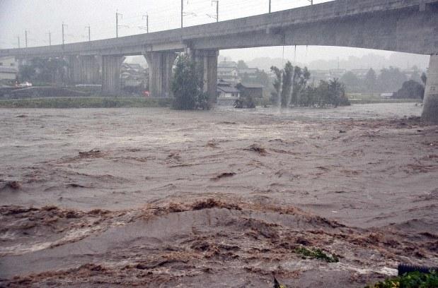 川 氾濫 千曲 長野