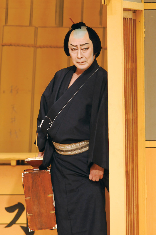 髪結新三を演じる尾上菊五郎  写真提供 松竹