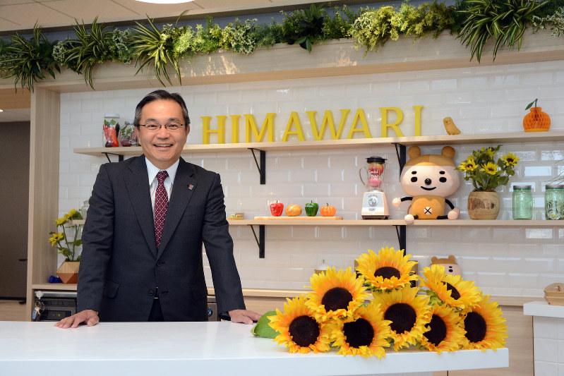 Interviewer 藤枝 克治(本誌編集長)Photo 武市 公孝、東京都新宿区の本社で