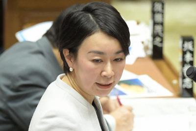立憲民主党の山尾志桜里氏=国会内で2019年2月20日、川田雅浩撮影