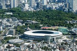 世界が注目する五輪はサイバー攻撃のターゲット(東京五輪の主会場となる新国立競技場)