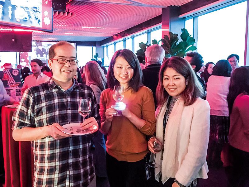 バイオ関連のスタートアップ企業が集まったパーティーの様子(筆者撮影)