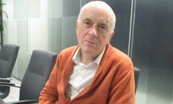 社会民主主義の衰退とブレグジットとの関係を説明する著書を出版したエイドリアン・ウィリアムソン氏=ロンドンで2019年11月12日、服部正法撮影