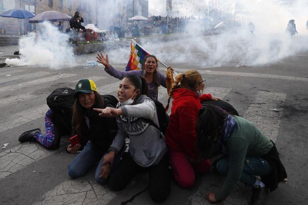 """Bildergebnis für bolivia clashes indigenous"""""""