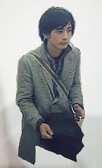 This image provided by Niigata Prefectural Police shows Ryosuke Saito near Niigata Station shortly before the fatal stabbing.