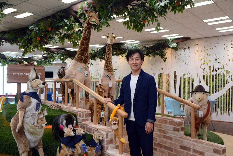 Interviewer 藤枝克治(本誌編集長)Photo 武市 公孝、東京都中央区のオフィスで