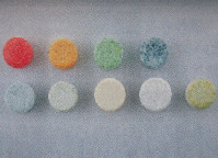 A photo of a National Police Agency pamphlet on preventing drug abuse shows an image of MDMA pills.