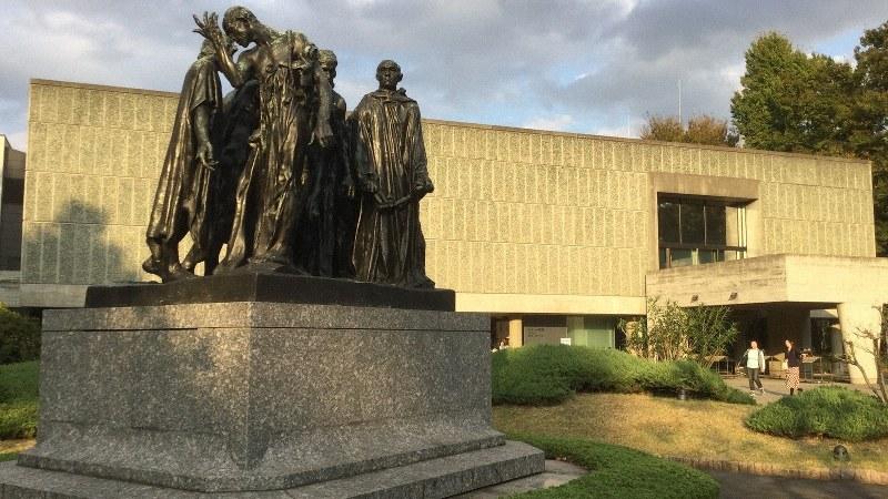2016年に世界文化遺産に登録された国立西洋美術館=筆者提供